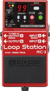Boss RC 3 loop station image