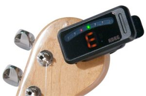 Clip On Guitar Tuner Image
