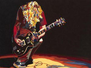 Guitar Art Image