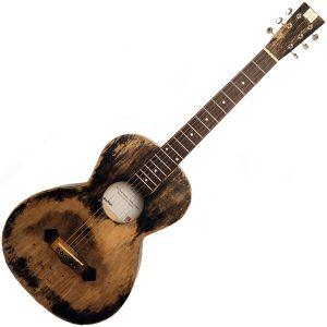 Nineboys parlour acoustic guitar image