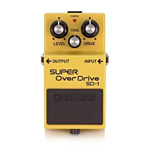Boss SD-1 Super Overdrive Guitar Pedal Image