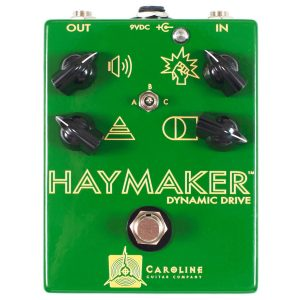 Caroline Guitar Company Haymaker Dynamic Drive Pedal Guitaarr Image