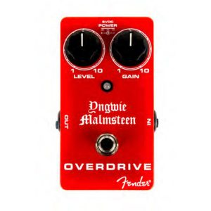 Yngwie Malmsteen Fender Overdrive Pedal Guitar Image