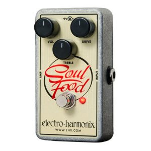 Electro Harmonix Soul Food Transparent Overdrive Pedal Image