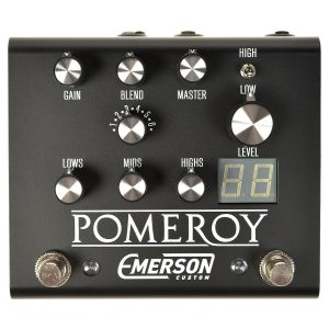 Emerson Custom Pomeroy Overdrive, Boost & Distortion Pedal Image