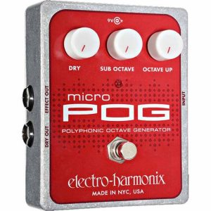 Electro Harmonix Micro POG Polyphonic Generator Pedal Image