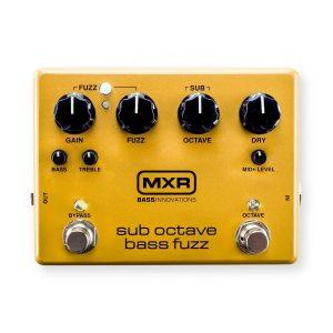 MXR Sub Octave Bass Fuzz Pedal Image