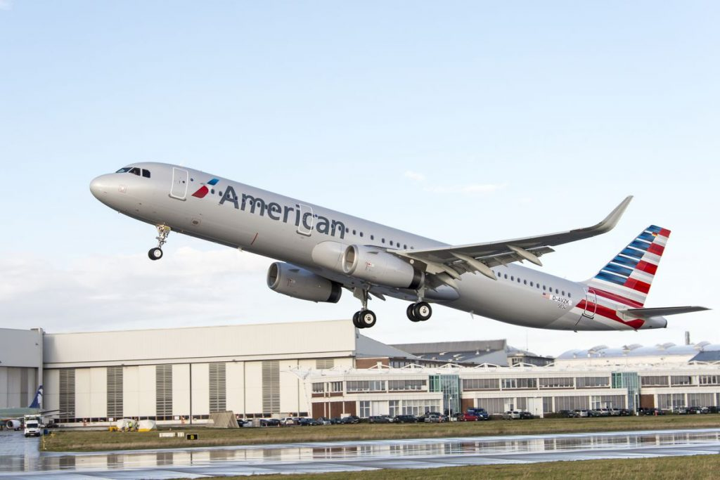 American USA Airlines Image