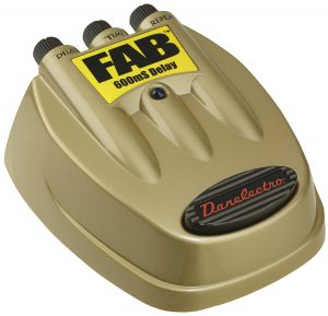 Danelectro D-8 Fab 600 ms Delay Pedal Image