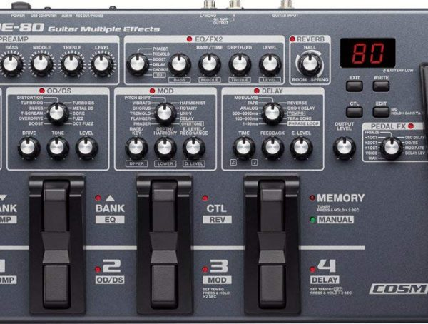 BOSS - ME-80 | Guitar Multiple Effects