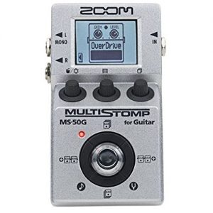 Zoom MS50G Pedal Image