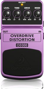Behringer OD300 Overdrive/Distortion Pedal Image
