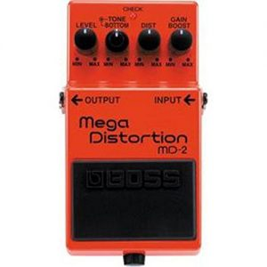Boss MD-2 Mega Distortion Pedal Image