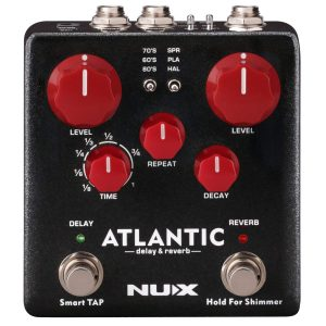 NUX Atlantic Multi Delay Pedal Image