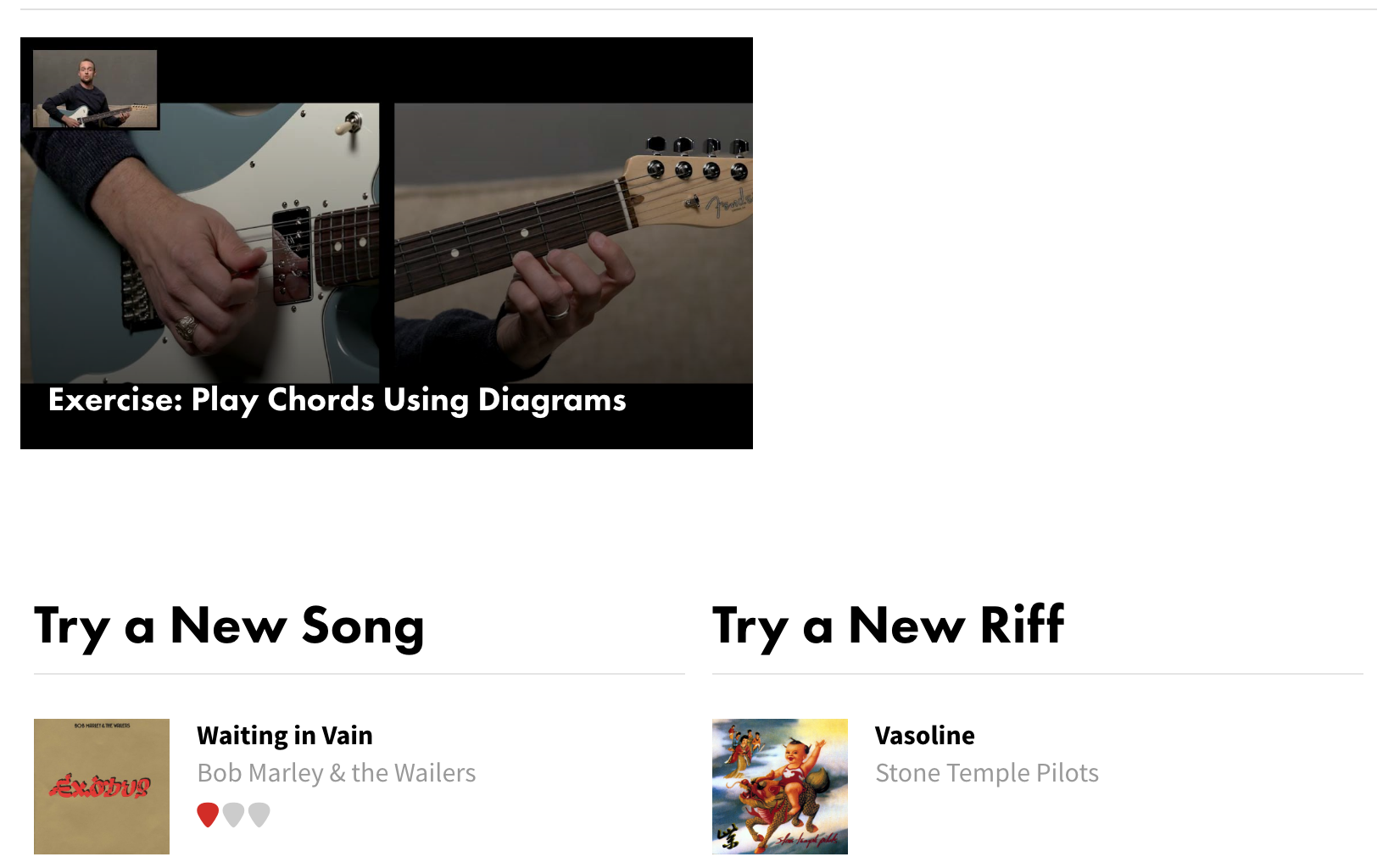 Fender Play Desktop Version Screenshot