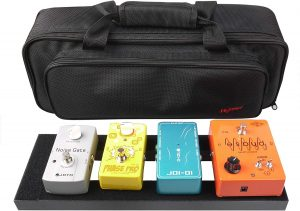 Mr. Power Aluminium Alloy Pedal Board with Carry Bag