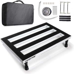 Vangoa Pedal Board - White Aluminium