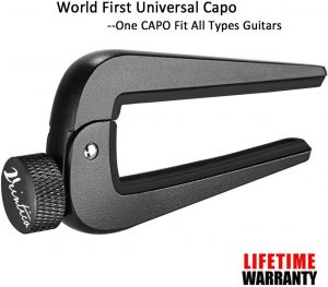 WINGO Wide Guitar Capo - Black