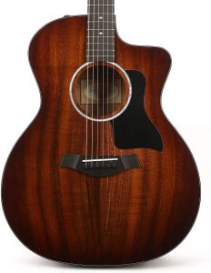 Taylor 200 Series Deluxe 224ce-K Grand Auditorium